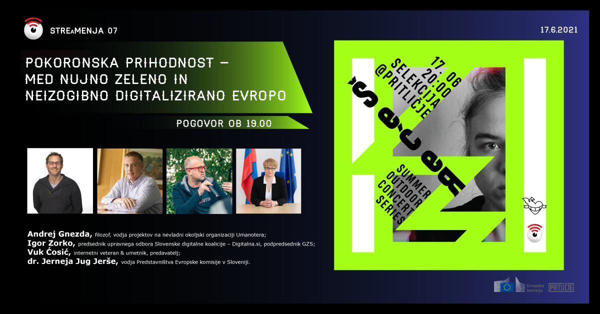 Stre(a)menja 07: Pokoronska prihodnost –  med nujno zeleno in neizogibno digitalizirano Evropo