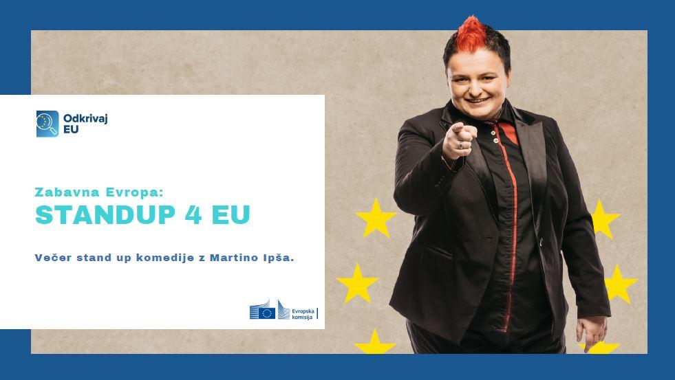 Odkrivaj EU: StandUP 4 EU z Martino Ipša