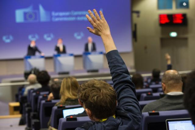 Press conference by  Jyrki Katainen, Vice-President of the EC, and Vytenis Andriukaitis, Member of the EC